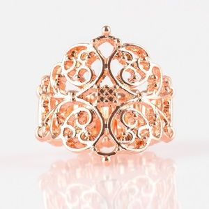 Victorian Valor Copper Ring